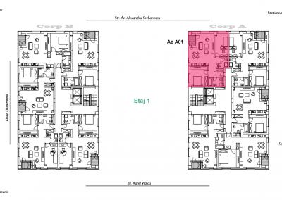 corp A - apartament 1 - aviatoriiresidence.ro 2D