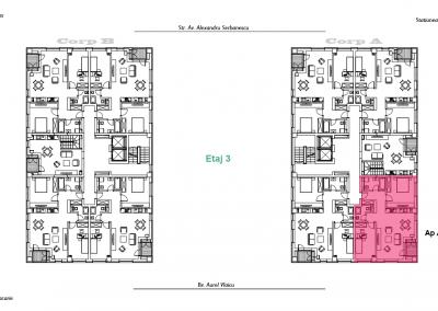corp A - apartament 13 - aviatoriiresidence.ro 2D