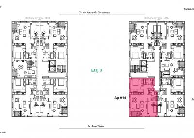 corp A - apartament 14 - aviatoriiresidence.ro 2D