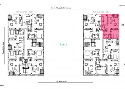 corp A - apartament 2 - aviatoriiresidence.ro 2D