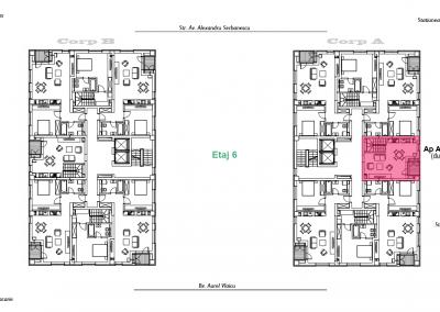 corp A - apartament 21 - etaj 6 DUPLEX - aviatoriiresidence.ro 2D