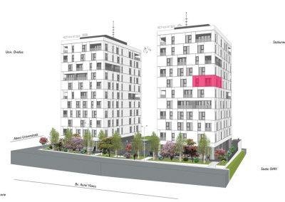 corp A - apartament 26 - aviatoriiresidence.ro