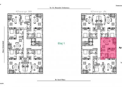 corp A - apartament 3 - aviatoriiresidence.ro 2D