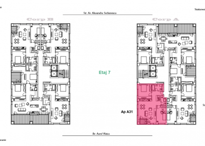 corp A - apartament 31 - aviatoriiresidence.ro 2D
