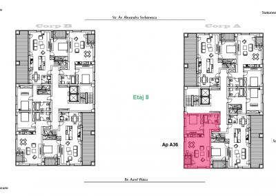 corp A - apartament 36 - aviatoriiresidence.ro 2D