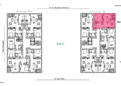 corp A - apartament 7 - aviatoriiresidence.ro 2D