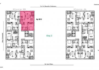 corp B - apartament 10 - aviatoriiresidence.ro 2D