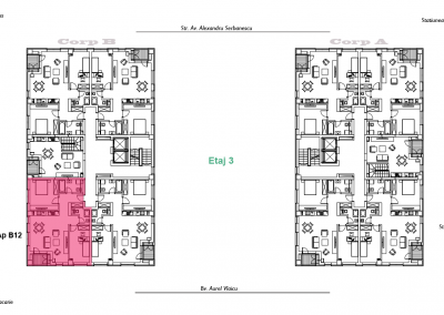 corp B - apartament 12 - aviatoriiresidence.ro 2D