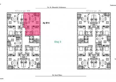 corp B - apartament 14 - aviatoriiresidence.ro 2D