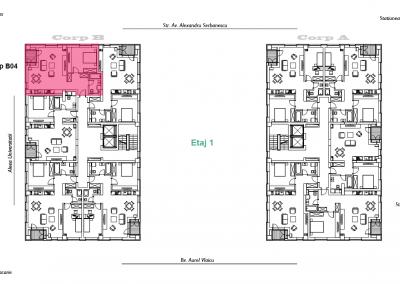 corp B - apartament 4 - aviatoriiresidence.ro 2D