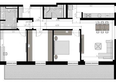TIP 4A - apartament 4 camere - Aviatorii Residence II - p