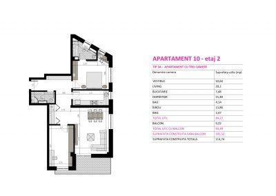 Apartament 10 - Aviatorii Residence II s011