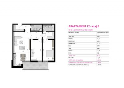 Apartament 12 - Aviatorii Residence II s007
