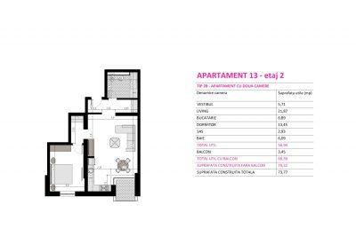 Apartament 13 - Aviatorii Residence II s008