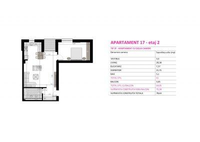 Apartament 17 - Aviatorii Residence II s004