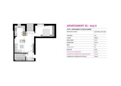 Apartament 35 - Aviatorii Residence II s010