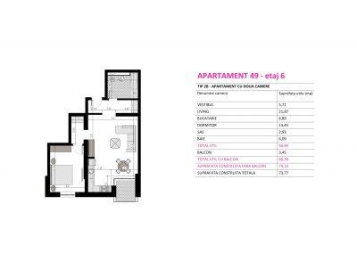 Apartament 49 - Aviatorii Residence II s004