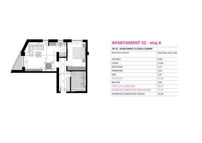Apartament 52 - Aviatorii Residence II s014