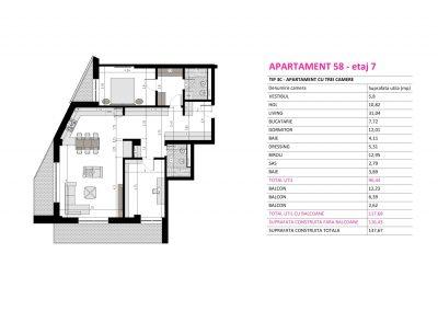 Apartament 58 - Aviatorii Residence II s006