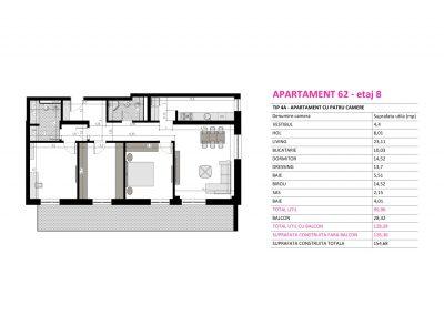 Apartament 62 - Aviatorii Residence II s005