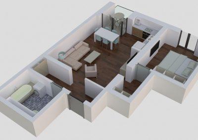 Apartamente tip 2Bside2 - aviatoriiresidence.ro 034