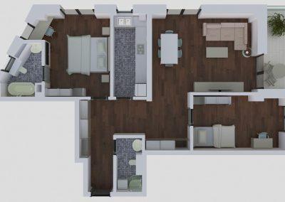 Apartamente tip 3Atop - aviatoriiresidence.ro 031