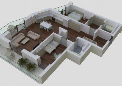 Apartamente tip 3Cside2 - aviatoriiresidence.ro 020