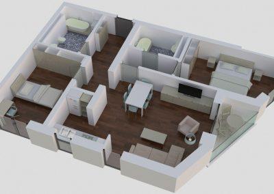 Apartamente tip 3Dside - aviatoriiresidence.ro 026