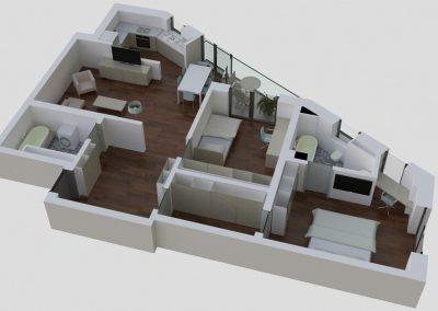 Apartamente tip 3Eside2 - aviatoriiresidence.ro 037
