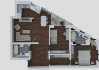 Apartamente tip 3Etop - aviatoriiresidence.ro 024
