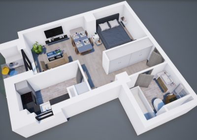 3D corp A Tip 1A 001 - Aviatorii Residence III